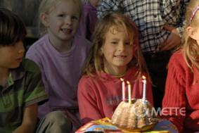 Geburtstag feiern mit den Tieren in Bokelberge